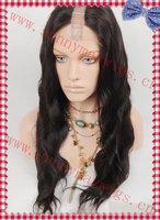 Custom order best quality Brazilian virgin  human hair U shape full lace wigs