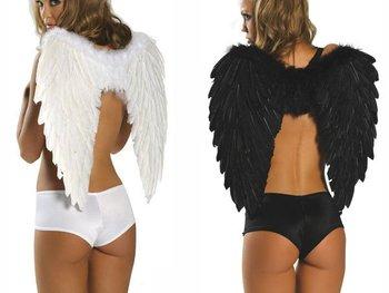 2014 Supernova Sale Halloween Angel Wings Festival Costumes Black/Red/White Halloween Supplies  #10042
