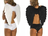 2014 Supernova Sale Halloween Angel Wings Festival Costumes Black/Red/White Halloween Supplies  #10042