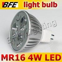 10pcs/Lot MR16 3 LED High Power 4W Warm Cold White Spot Light LED Bulbs