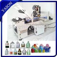 Semi-Automatic Round Bottle Labeling Machine Label Machine YS56673