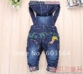 5 pcs Baby boy/Girls Jeans Long Trousers Fashion Kids Overall pants ,baby fishion Overall