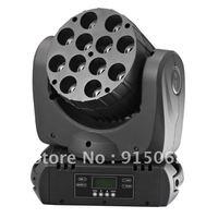 NEW 12*10W RGBW 4in1   LED Beam Moving head light DMX stage Lighting 108W DJ Light