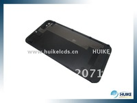 10pcs top quality Black white Glass Battery Cover Back replacement Housing for iPhone 4S 4GS,dirt-resistant