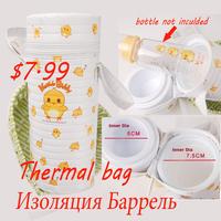 free shipping new born baby bottle thermo food warmer bag bolsa termica para bebe thermal bag kids baby bottle bag 3 MY-0016