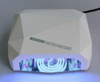 Free shipping  36 watts diamond ccfl uv lamp  12w ccfl +24 watts led uv light  1 pcs /lot