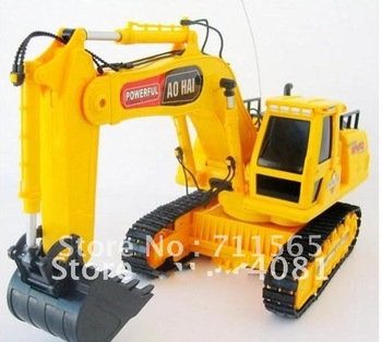 construction truck  excavator children car toys construction vehicles car kid Wireless remote control truck 8channel large toys
