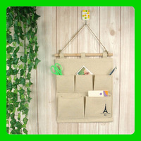 Free Shipping 1set Fabric Cotton Pylon Debris Multilayer Shelves Bag sundries storage box