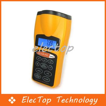 Free shipping Ultrasonic Laser Distance Measurer Range Finder Device Meter Tool 60FT 10pcs/lot Wholesale