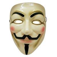 FOR WHOLESALE 100 pcs/lot Amazing Original Color Guy fawkes mask