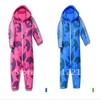 2014 Autumn/winter girls cotton thread  romper clothes,climb jumpsuit creepiness service baby/ infant rompers