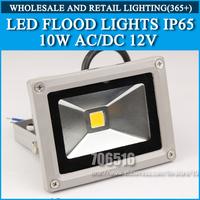1pcs LED Flood Lights 10W AC/DC 12V IP65 warm white / Cold white Outdoor Lighting Floodlight Free Shipping