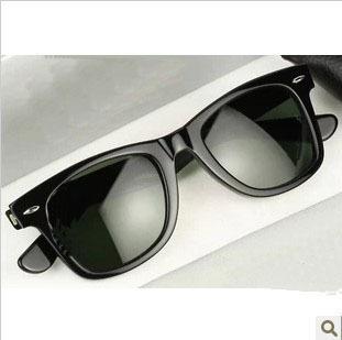 2014 men and women new fashion retro sunglasses glasses glasses Rb21-40, black Free Shipping
