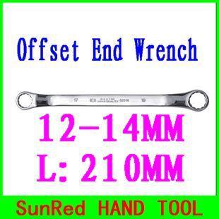 Гаечный ключ SunRed BESTIR 12/14 L:210 cr/v no.52311 комбинированный трещоточный гаечный ключ cr v 12мм зубр профи 27074 12