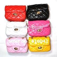 Retail Girls Casual Fashion Handbag Baby Bages  Kids Children Accessorie Red Pink Yellow White 0904001-BB
