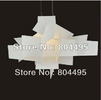 Free shipping + white  nrico Franzolini and Vicente Garcia Jimenez's Big Bang Chandelier pendant lamp light(Dia 90cm)