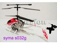 Syma S032G S032 3ch rc helicopter with gyro radio remote control heli with gyto & LED toy