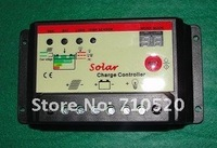 20A PWM Solar Controller for solar system. solar charge controller 12V/24V auto distinguish, two digit display, Free Shipping