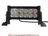 free  shipping   12V 24V 36W LED Light Bar 12/24V IP67  offroad light aluminum housing, SUV /driving light headlight