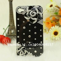 New Arrival Fashion Bling For iphone 5s 5c 5 5g 4 4s  Samsung S4 S3 Note 2  Luxury Case Rose Diamond FreeShipping 1Piece