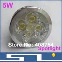 High Power LED Lamp quality assurance GU 5.3 GU10 E27 white/warm white LED Lamp Bulb Spotlight 5W ,20pcs/lot, free shipping