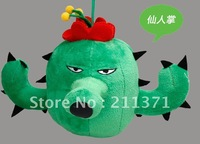 Cactus  of  Plants VS Zombies  Baby Stuffed Soft Plush Toy PVZ Kids birthday gift  Brand New 6''