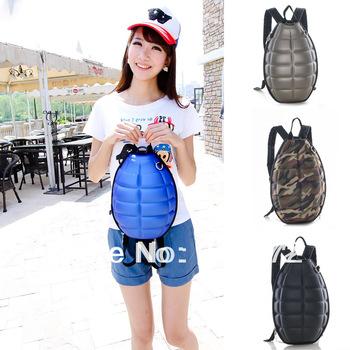 women's bag 2014 spring new bomb backpack shell backpack double-shoulder women backpack,school backpacks,free shipping
