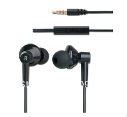 "3.5mm inear In-ear "" L"" high quality strong bass Headphone Earphone Earbuds headset For MP3 MP4 pc zipper case 8 earplugs(China (Mainland))"