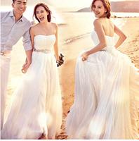 hot&sexy colorful 2014 new wedding dress vestido de festa custom made plus size gy 590