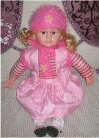 free shipment  baby doll russian children  story development toys children toys