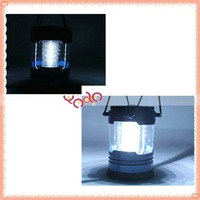 Free Shipping!12 LED Camping Lamp,Camping Lamp With Compass New 10pcs/lot T00541