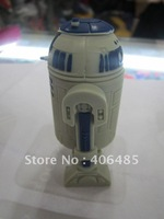 wholesale Free Shipping  STAR WAR R2-D2 robot plastic genuine 4GB/8GB/16GB/32GB usb drive pen drive usb flash drive