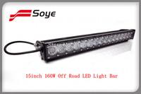 4x4 led driving light bar 15'' cree adjustable 16W-160W led offroad light bar with ECE112 standard Europe light beam pattern