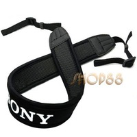 100% High Quality Skidproof Elastic Neoprene Neck Strap for Sony DSLR Camera