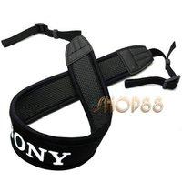 100% High Quality Skidproof Elastic Neoprene Neck Strap for Sony DSLR Camera