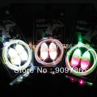 2013 New hot selling 3th LED shoelace Disco fashion led flashing shoelace luminous shoelace  wholesale free shipping