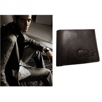 Free shipping genuine leather man wallet purse