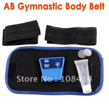 AB Gymnic Electronic Muscle Arm leg Waist Massage Belt, Body Building Belt FREE SHIPPING