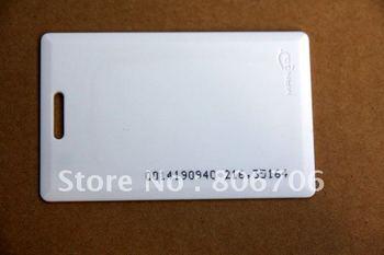10pcs 125KHz EM Proximity ID Card Clamshell RFID EM4100 and compatible Injek Printing Waterproof no. Access Control Staff Time