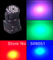 18 pcs *3 W rgb led Moving head stage light with best price