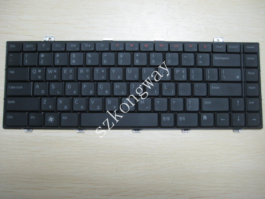 Laptop keyboard for Dell Inspiron 14Z 1470 Korean version Layout keyboard Black Backit(China (Mainland))