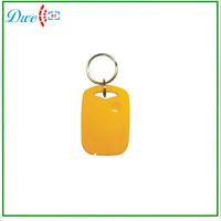 50pcs/lot + 125khz TK4100 EM-ID access control ABS rfid keyfob keychain card