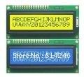 Free shipping, 20pcs 10pcs Blue +10pcs Yellow Backlight 1602 16x2 HD44780 Character LCD Display Module LCM