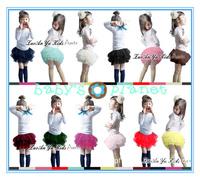 2015 new freeshipping girl tutu girl skirt dance clothing children clothing summer girl ball gown girl bottom colorful 4pcs/lot