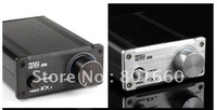 MUSE M20 EX TA2020 T-Amp Mini Stereo Amplifier 20WX2  Free dropshipping    silver
