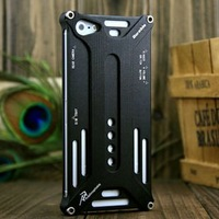 50pcs Arachnophobia Durable Metal For Apple iPhone5 5G black Back Hard Cover Case+free DHL shipping