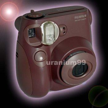 Polaroid Fuji Fujifilm Choco Instax Mini 7S Instant Film Photo Camera ( Chocolate Brown )