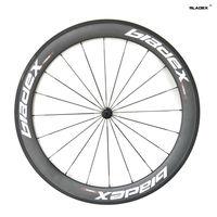 BladeX PRO ROAD CARBON WHEELSET 45060T -  50/60mm Tubular Carbon Wheels;Ceramic Bearings;Basalt Braking Surface; Bicycle Wheels