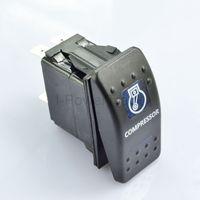 12V BRAND NEW BLUE LED ILLUMINATED ROCKER SWITCH COMPRESSOR 12V 4X4 4WD