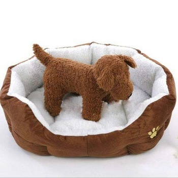 P0021 Free shipping pet products classic warm cashmere soft dog nest/house bed/kennel